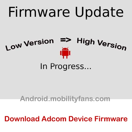 Download Adcom Device Firmware