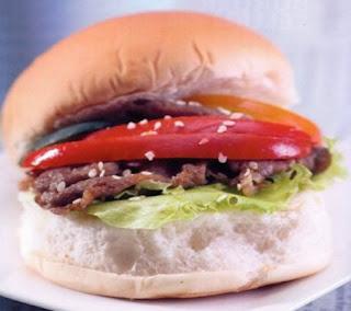 Sukiyaki Burger Recipe