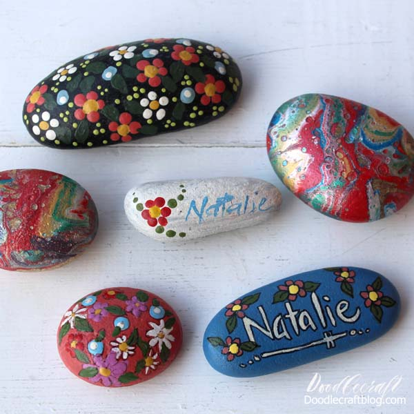 Rock painting for beginners, everything needed to get started