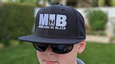 Mexicans in Black snapback hat