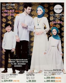 baju muslim keluarga edisi lebaran
