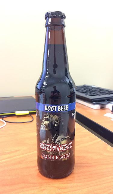 Dead World Twilight Shuffler Root Beer Zombie Soda