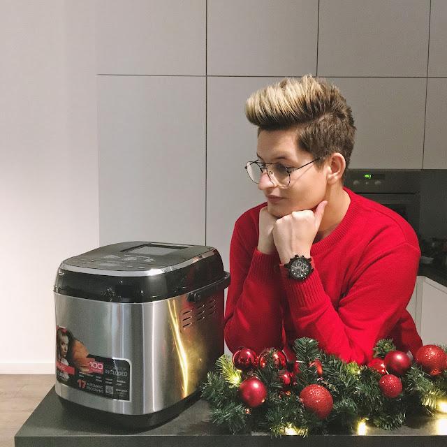 Świąteczny zapach domowego chleba