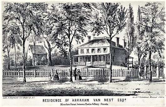 The Warren-Van Nest Mansion - Bleecker and Charles Streets