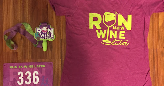 Gone For A Run - Run 5k Wine Later Information