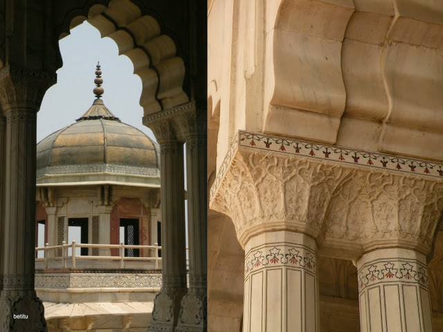 tower and marble details by betitu