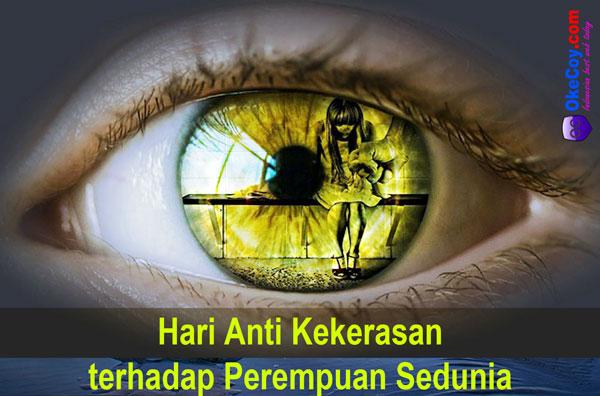 hari anti kekerasan terhadap perempuan sedunia internasional dunia nasional indonesia