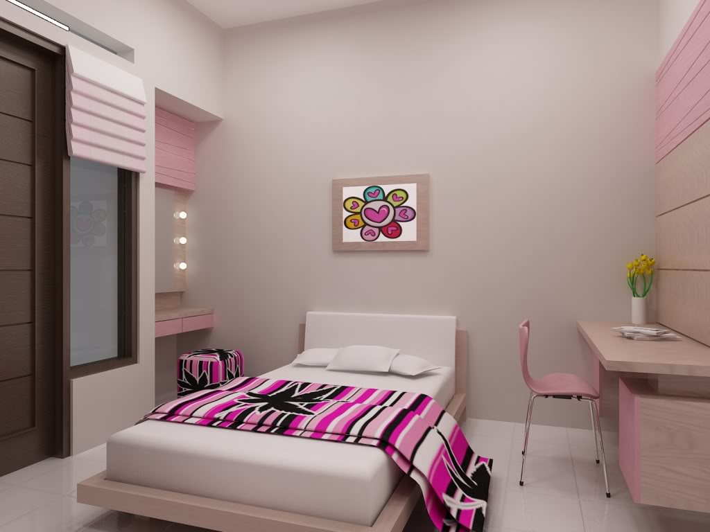 kamar tidur orang dewasa sederhana | interior rumah