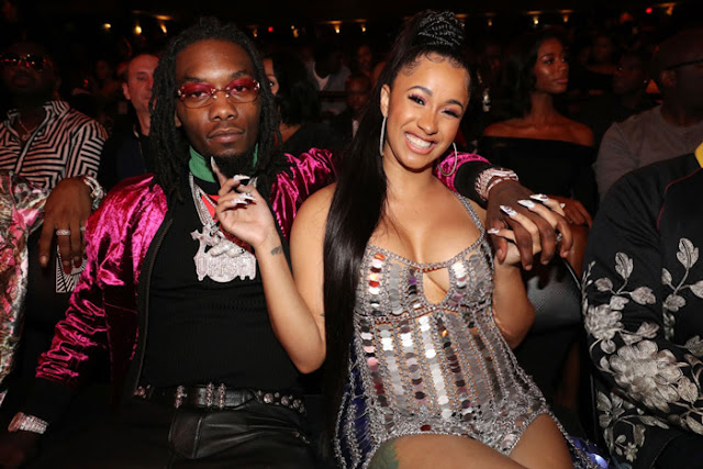 Rapper Cardi B Buys Her Fiance, Offset, A Rolls Royce For His 26th Birthday Today