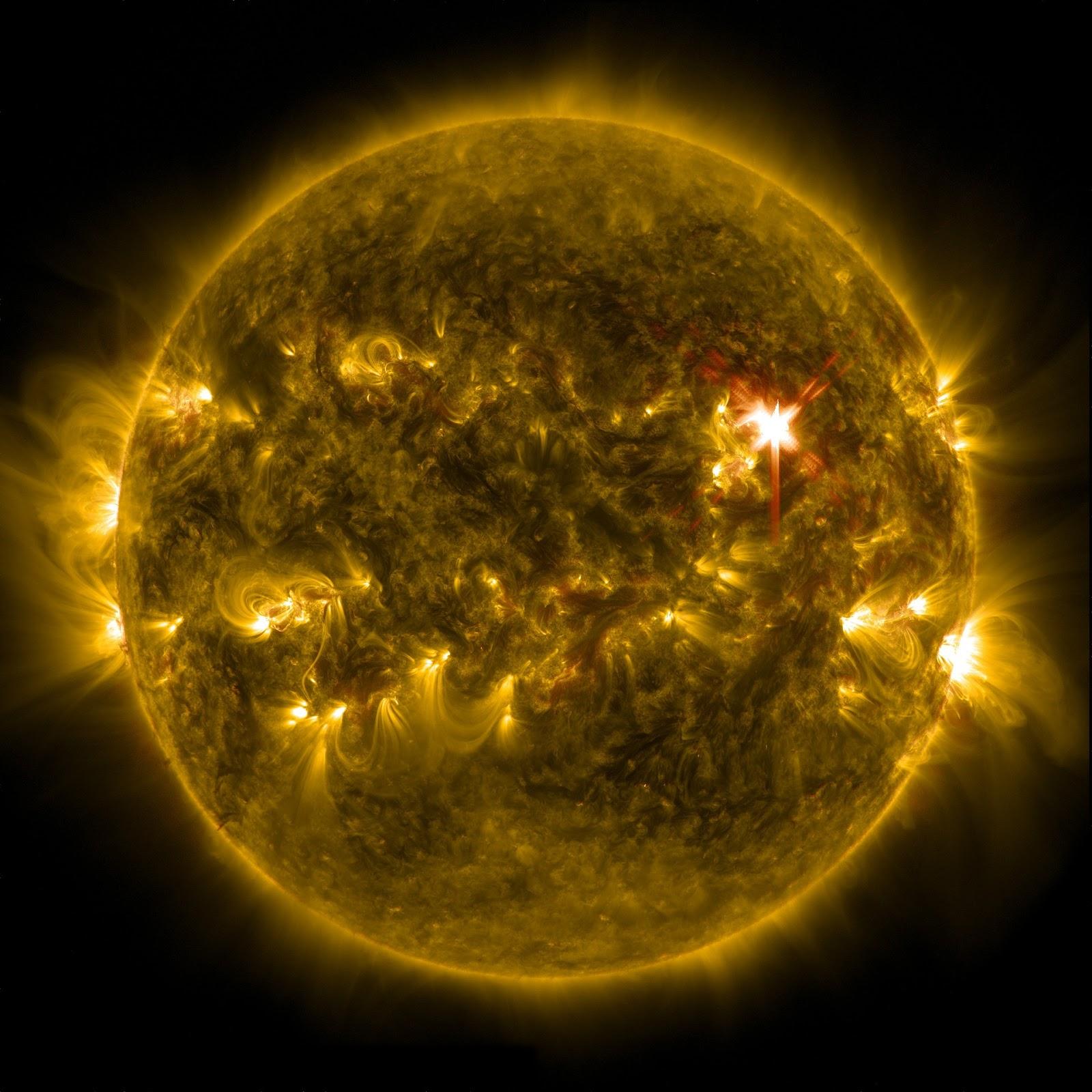 пульсации энергии и плазмы на солнце