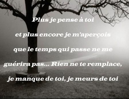Gut bekannt Triste phrase d'amour ~ Poème et Textes d'amour LC76