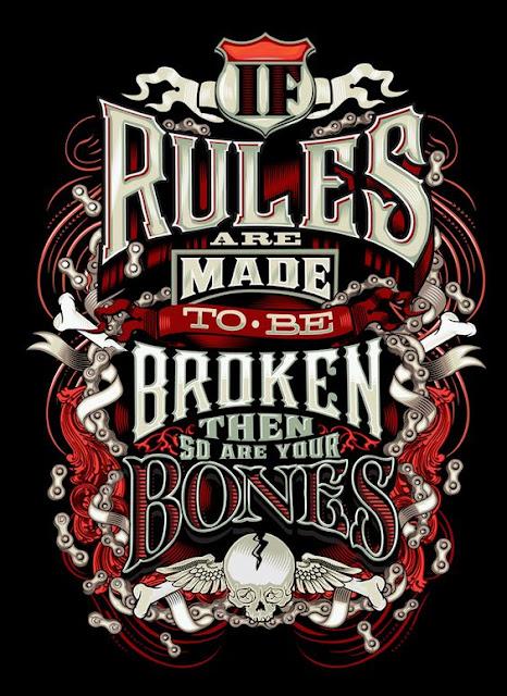 A kickass motorcycle safety saying