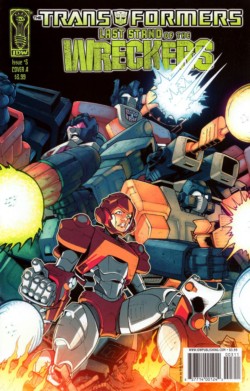 Transformers – Last Stand of the Wreckers 03 (2010