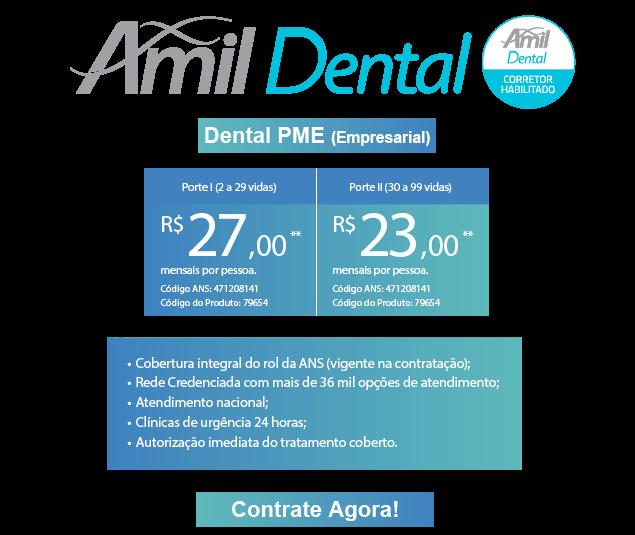 Contrate agora seu Amil Dental