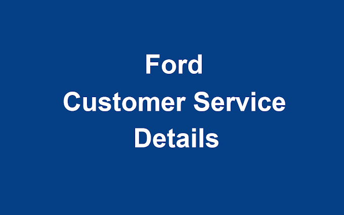Ford Customer Service Number | Ford Phone Number