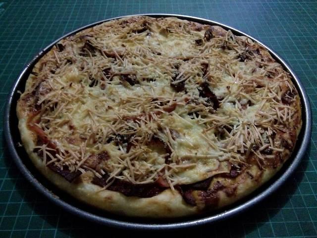 Resep pizza praktis ala rumah makan ciwidey