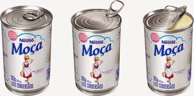 nova+lata+leite+mo%C3%A7a Direto da Prateleira: A Nova Lata de Leite Condensado Moça