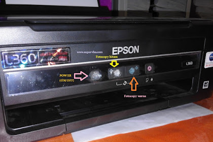 Cara print menggunakan printer Epson L360