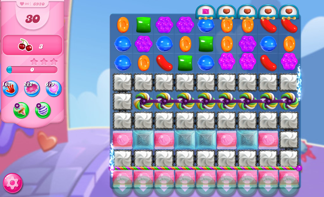 Candy Crush Saga level 6920