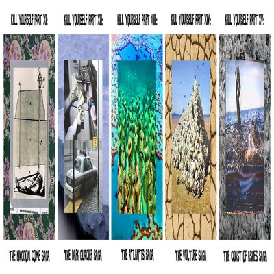 SuicideBoys - Kill Yourself, Pt. XI - XV - Album Download, Itunes Cover, Official Cover, Album CD Cover Art, Tracklist