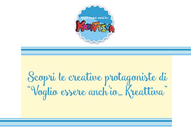 Nuova iniziativa: Voglio essere anch'io... Kreattiva