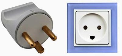 Instalaciones eléctricas residenciales - Enchufe tipo K