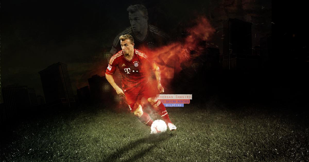 Football: Xherdan Shaqiri 2013 HD Wallpaper