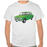 Lada 1200 t-paita vihreä