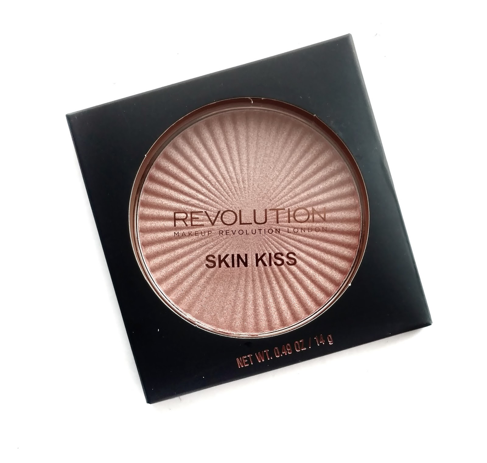 makeup revolution skin kiss highlighter review