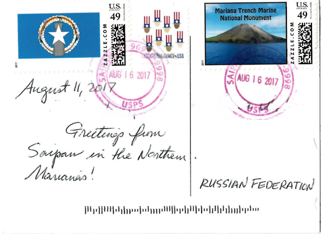Stamps from Northern Mariana Islands
