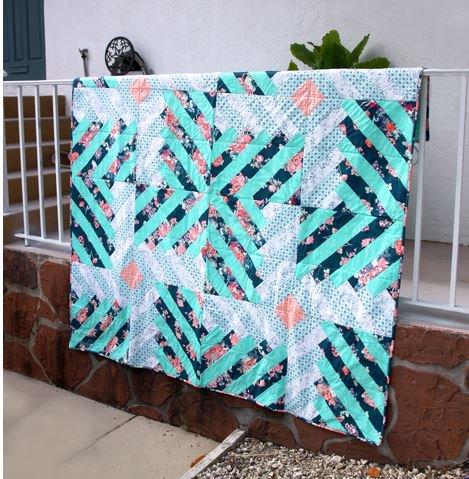 """""""Velanio"""" a Katrina Rocella quilt design"""