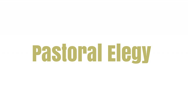 What is Pastoral Elegy?