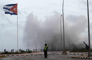 Le passage de l'ouragan Irma à Cuba