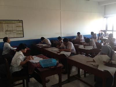 Ujian Sekolah (US) SMK TI Bali Global Denpasar Berlangsung Tertib dan Lancar