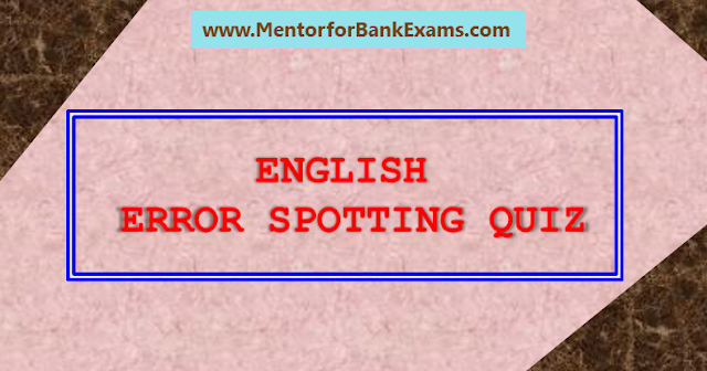 Mentor for Bank Exams'