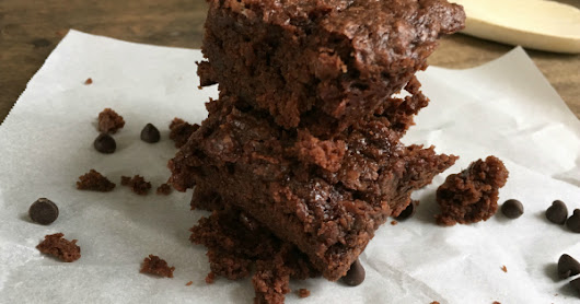 Decadent Chocolate Brownies - Vegan, Gluten-free, Allergen-free