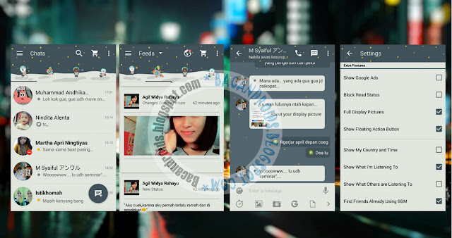 download BBM2 Mod Thema Material Galaxy Versi 2.13.0.26 Apk Clone