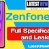 Asus Zenfone 6z full Specifications, Price in India and Features | LatestNewMobiles.in