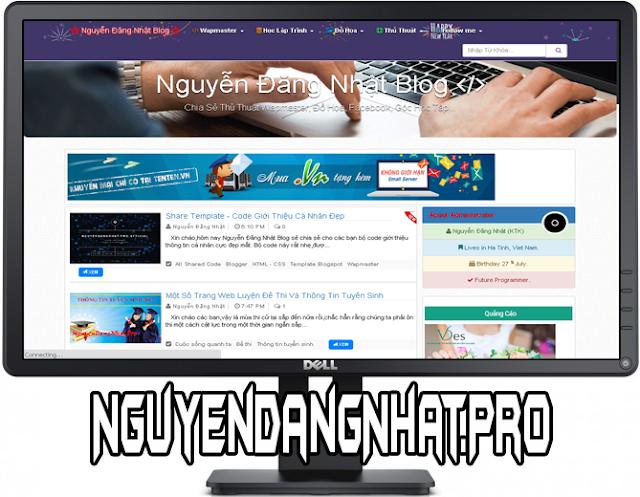 Share Template Nguyễn Đăng Nhật Blog