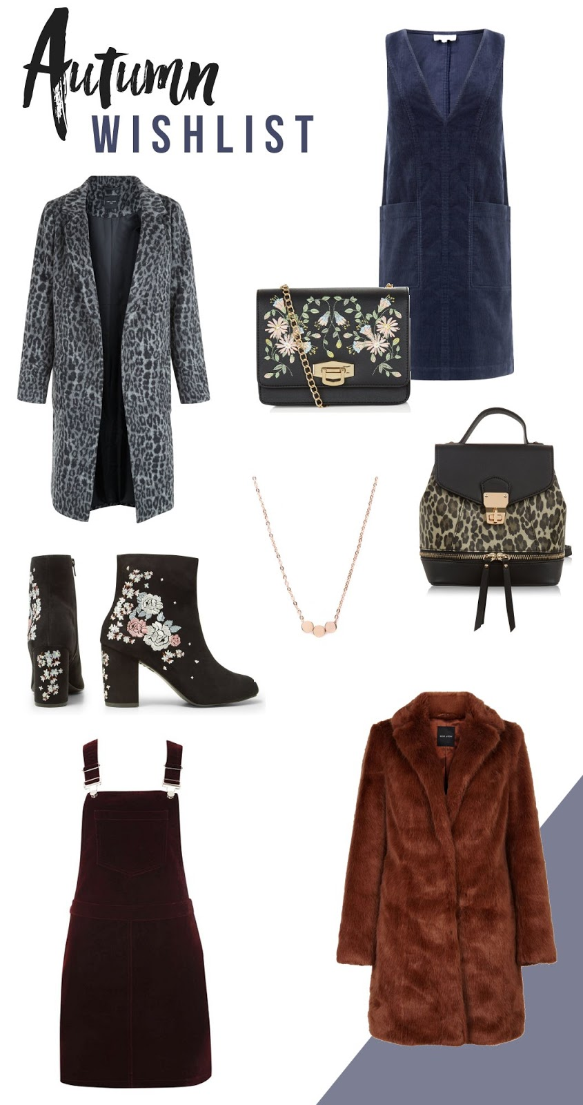 Autumn Fashion Trends and Wishlist