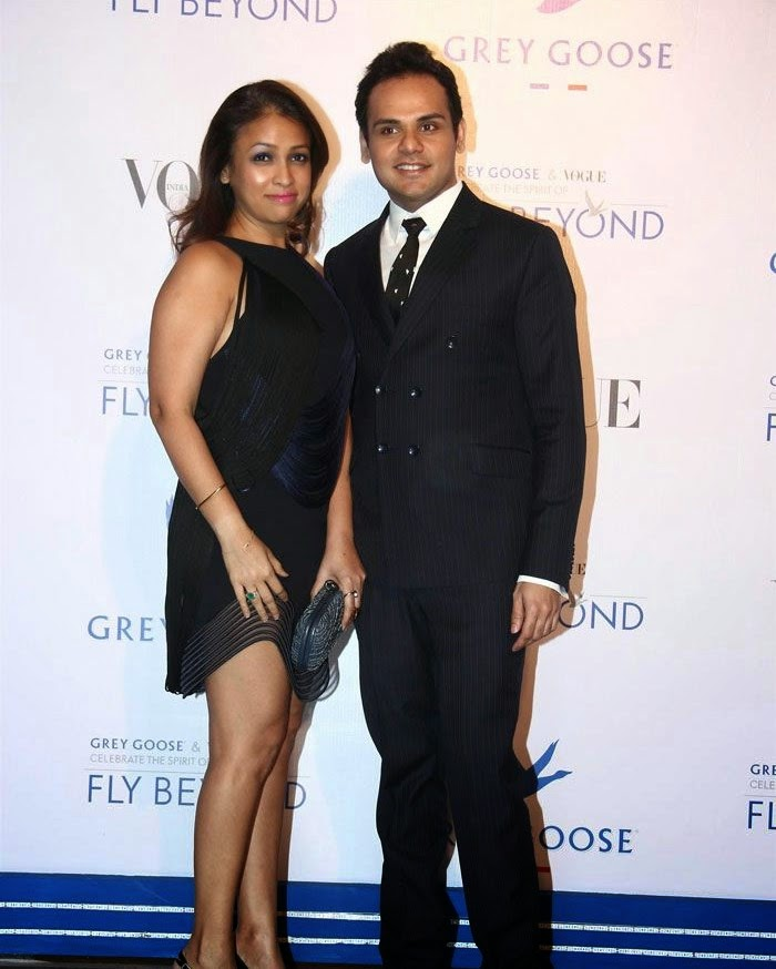 Surily Goel, Pics from Red Carpet of Grey Goose & Vogue's Fly Beyond Awards 2014