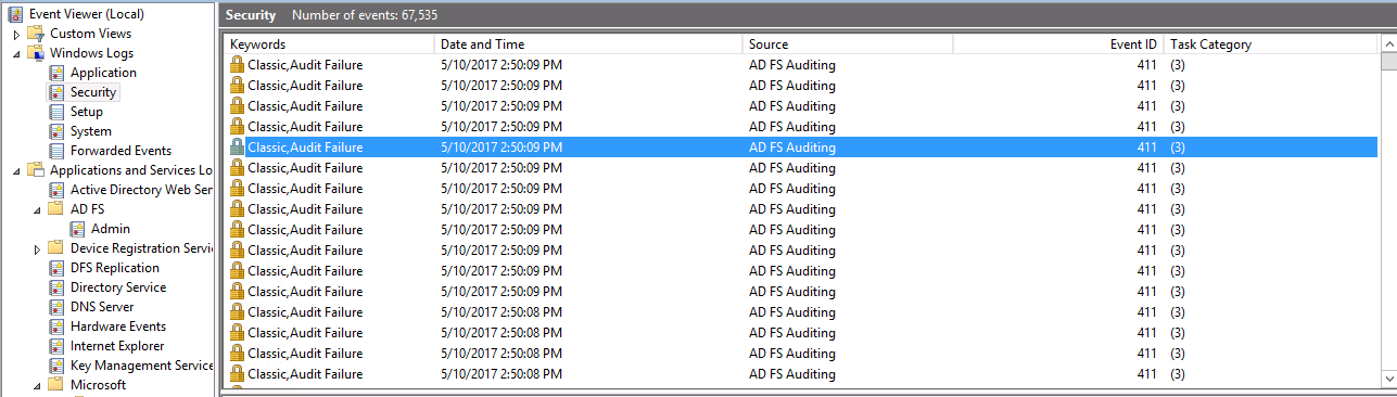 Tracing ADFS Logon Failures - Enabling ADFS     - One Byte at a Time