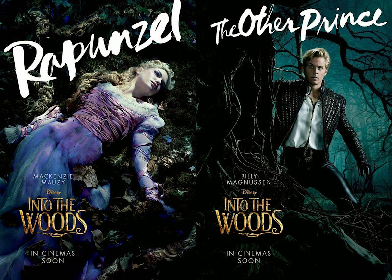 Into the Woods Rapunzel Prince movie posters