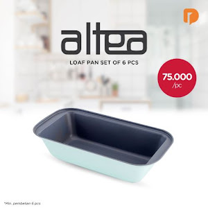 Altea Loaf Pan Set (Set of 6)