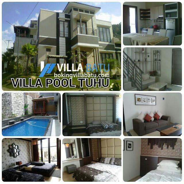 Penginapan Villa Pool Tubu Batu - Malang