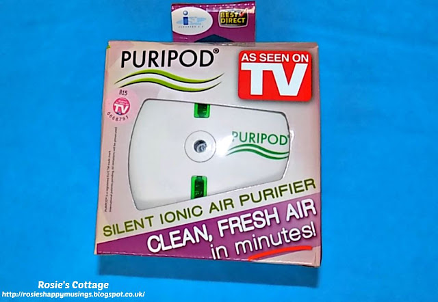 Puripod - Silent Ionic Air Purifier