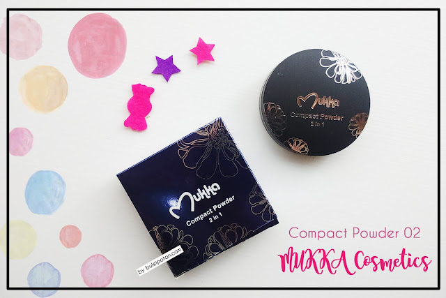 Compact+Powder+Mukka+Cosmetics