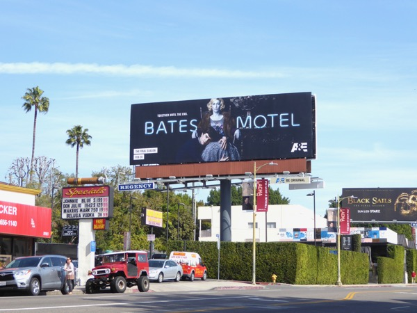 Bates Motel final season 5 billboard