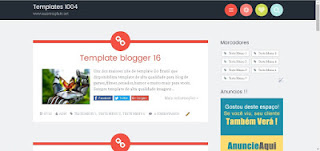 Template blogging