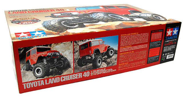 Tamiya CR-01 Toyota Land Cruiser box art